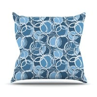 Simple by Julia Grifol Throw Pillow