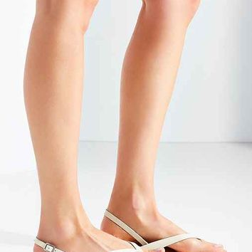 Mabel Leather Thong Slingback Sandal