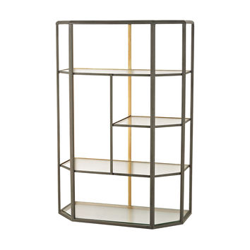 351-10170 Industrial Era Shelving Unit - Free Shipping!