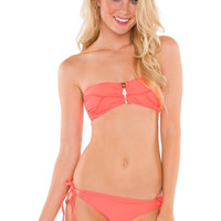 Amanda Bathing Bottom - Coral