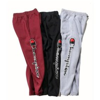 One-nice™ Champion Fashion Print Drawstring Pants Trousers Sweatpants