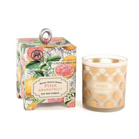 Pink Grapefruit Soy Wax Candle