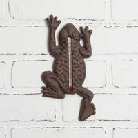 Frog Garden Thermometer