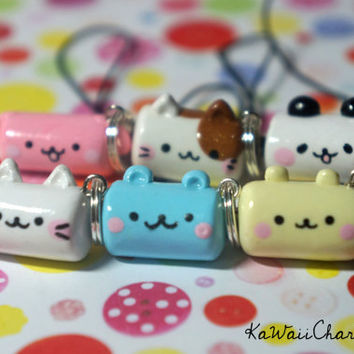 Kawaii Animal Marshmallow Charm
