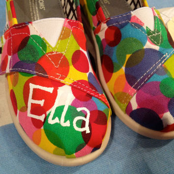 Custom Tiny TOMS Shoes