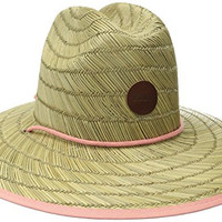 Roxy Junior's Tomboy Straw Hat, Lark, Medium/Large