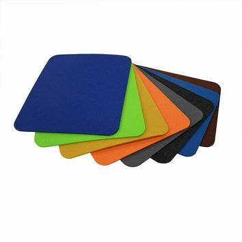 Wool Felt Gaming Mouse Pad Large Desk Mat Non-Slip Felt Base 3mm Thick office and Computer Peripherals Mat Modern Table Office