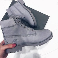 Timberland street fashion men and women classic high-top outdoor Martin boots