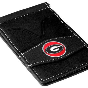 Georgia Bulldogs Player's Leather Wallet