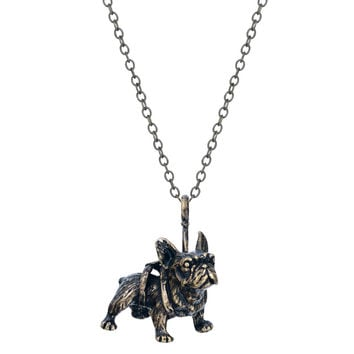 Adorable French Bulldog Pendant Necklace