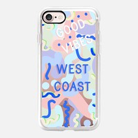 Good Vibes West Coast iPhone 7 Case by Vasare Nar | Casetify
