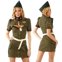 Halloween Costumes For Women Police Cosplay Costume Dress Sex Cop Uniform Sexy Policewomen Costume Outfit Prom Plus size SK88