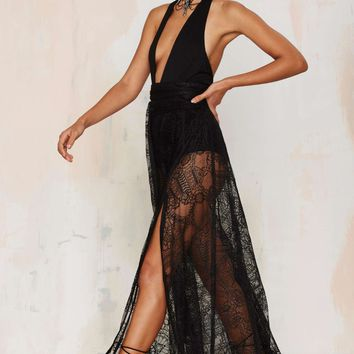 Just in Lace Maxi Skirt