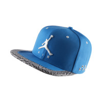 Jordan Jumpman Air Adjustable Hat, by Nike (Blue)