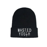 WASTED YOUTH BEANIE