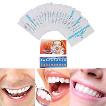Advanced 3D Ultra White RoutineTeeth Whitening 14 Pairs Strips Dental Bleaching Instrument SM6