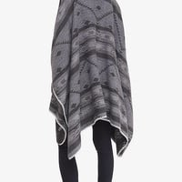 Reversible Southwestern Print Blanket Cover-up from EXPRESS