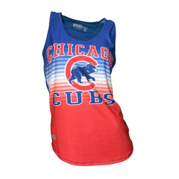 Chicago Cubs Womens Dynamic Tank Top