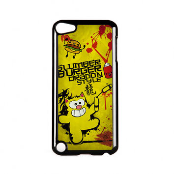 Dragon Master Ringo Black Hard Plastic Case for iPod Touch 5th Gen by Furry Feline Creatives