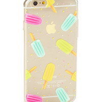 Clear Ice Pop Soft Case for iPhone