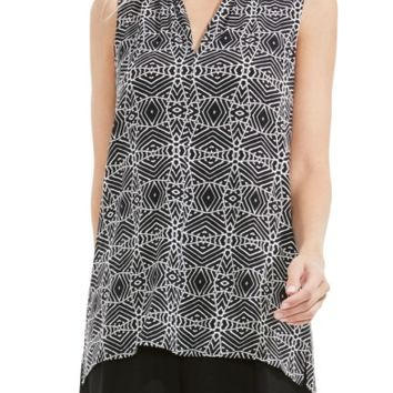 Vince Camuto Graphic Knit Top | Nordstrom