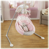 Rose Chandelier Cradle 'n Swing