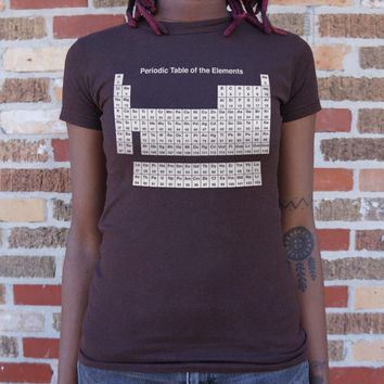 Ladies Periodic Table T-Shirt