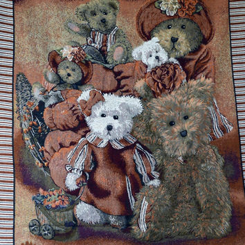 Tache 1 Piece 50 x 60 Teddy's Collection Tapestry Throw