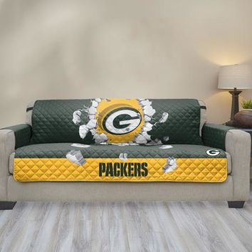 Green Bay Packers Sofa Explosion Furniture Protector