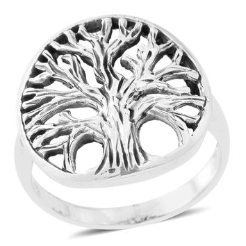 5.4 Grams Tree of Life Sterling Silver Ring