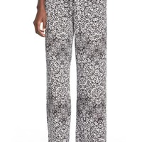 Junior Women's Jolt Drawstring Palazzo Pants,