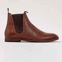 Hudson Tan Leather Chelsea Boots - Men's Boots - Shoes and Accessories