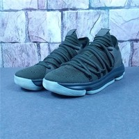 Nike Zoom KD 10 Kevin Durant Olive Sneaker