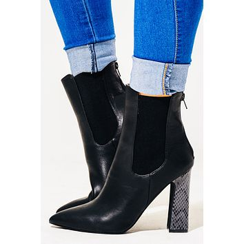 Finally Friday Booties: Black
