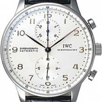 IWC - Portuguese Chronograph - Stainless Steel
