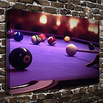 COLORSFORU Wall Art Painting Billiards Prints On Canvas The Picture Landscape Pictures Oil For Home Modern Decoration Print Decor For Living Room