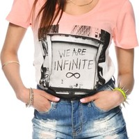 Glamour Kills We Are Infinite Dip Dye T-Shirt