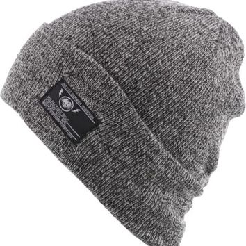 Never Summer Shoreman 3 Cuff Beanie - salt & pepper - Free Shipping