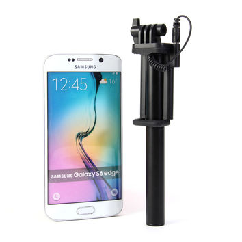 Mini Selfie Monopod With Wired Control