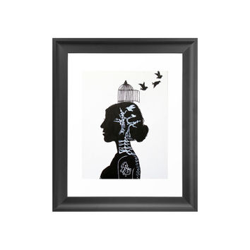 X-Rayed Art Print
