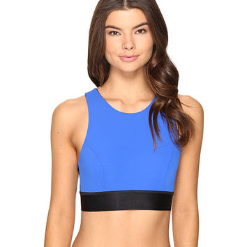 Hanky Panky Mia Cropped Bralette Cobalt/Black - Zappos.com Free Shipping BOTH Ways