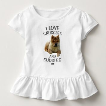 Snuggles Toddler Design by Kat Worth Toddler T-shirt