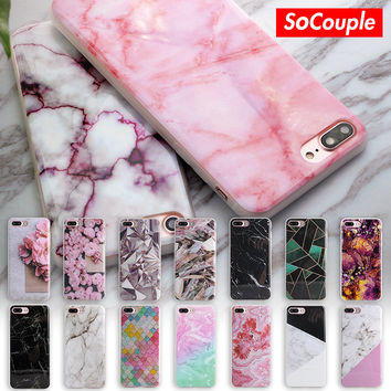 New Arrival Granite Scrub Marble Stone image Painted Phone Case For iphone