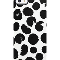 Painted Circles iPhone 5/5S TS Deflector Case