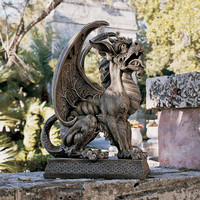 Park Avenue Collection Argos St Ambrose Gate Gargoyle