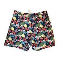 Vintage Nautica Tropical Swim Trunks Mens Size XXL