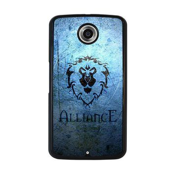 world of warcraft alliance wow nexus 6 case cover  number 1