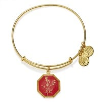 Neptune's Protection Larkspur Charm Bangle