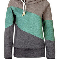Cupshe Fresh Contrast Hooded Sweatshirt