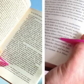 Thumb Thing Book Page Holder and Bookmark - Opulentitems.com